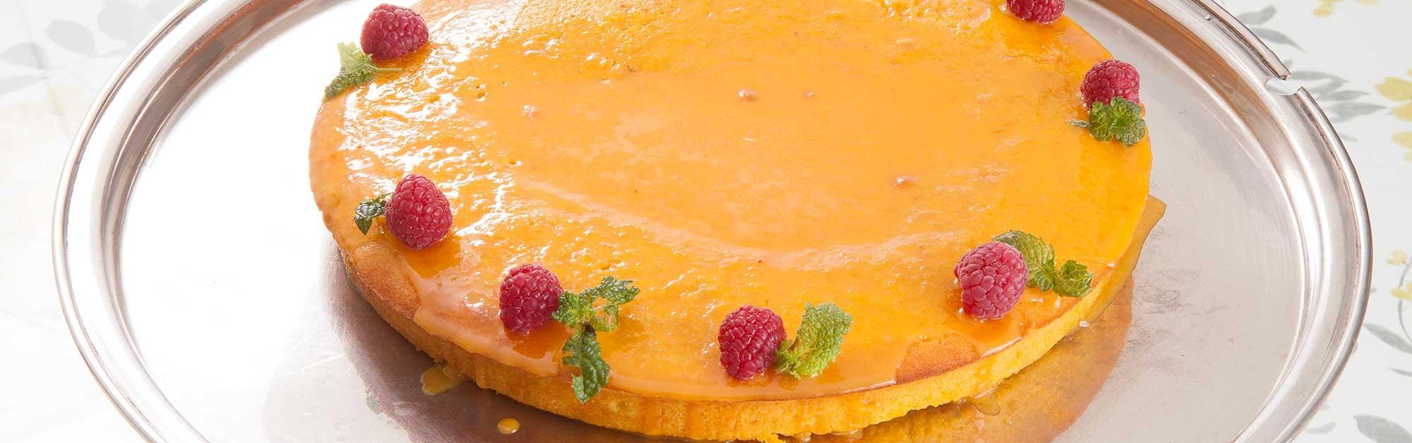 Cake de naranja y calabaza