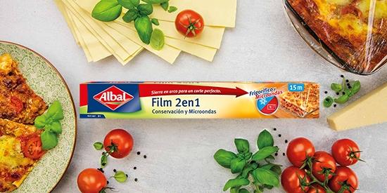 Film 2 en 1 para microondas Albal®