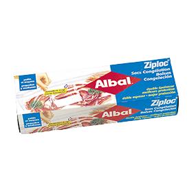Lanzamiento Bolsas de congelación Ziploc® de Albal® en 1986
