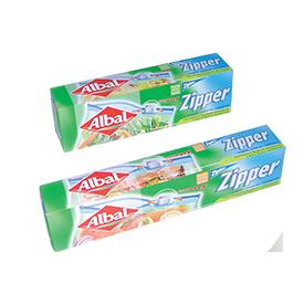 Lanzamiento de Bolsas multiusos Zipper® de Albal® en 2004