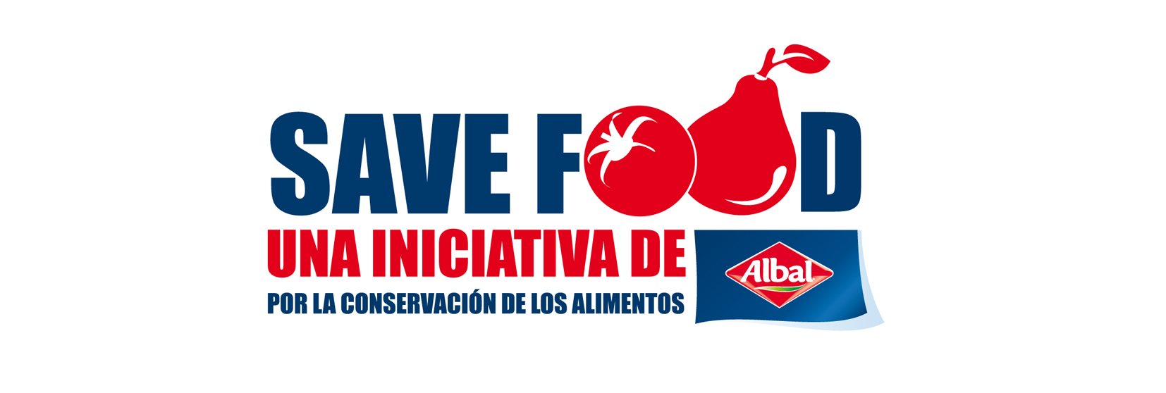 Logo iniciativa Save Food de Albal®