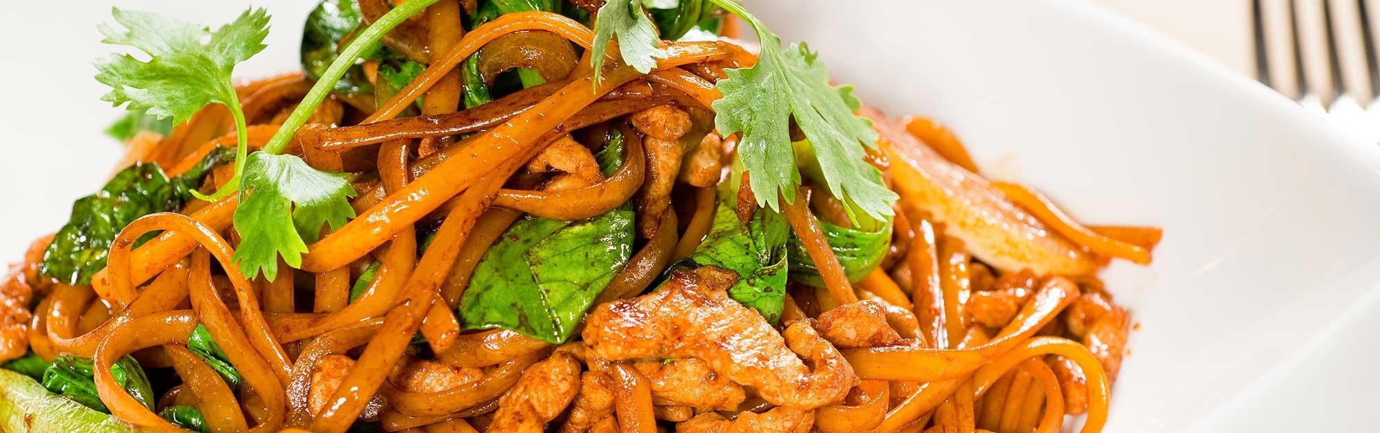 Lomo de cerdo marinado al estilo asiático
