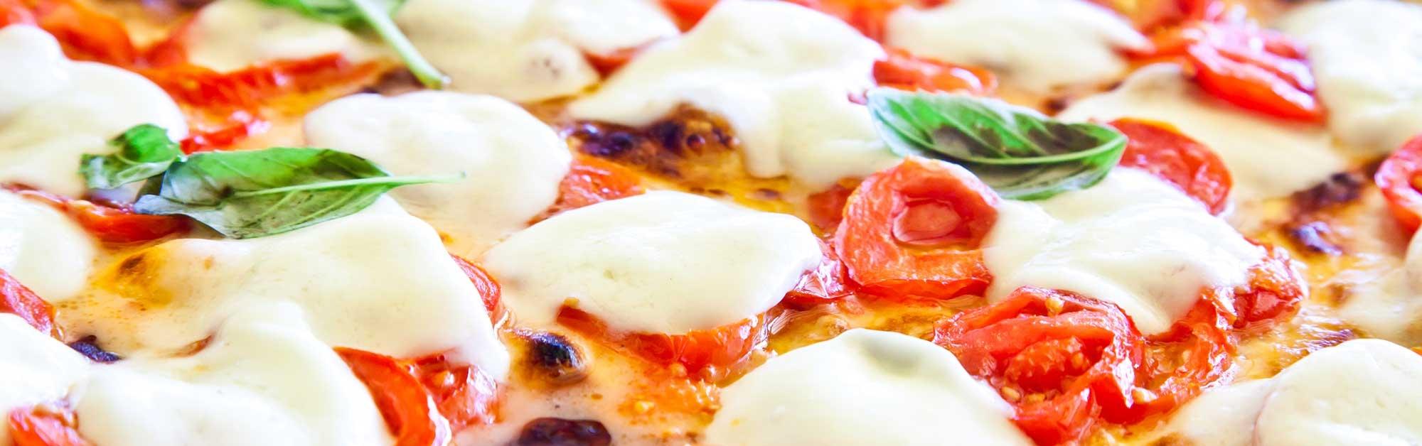 Pizza Caprese Casera