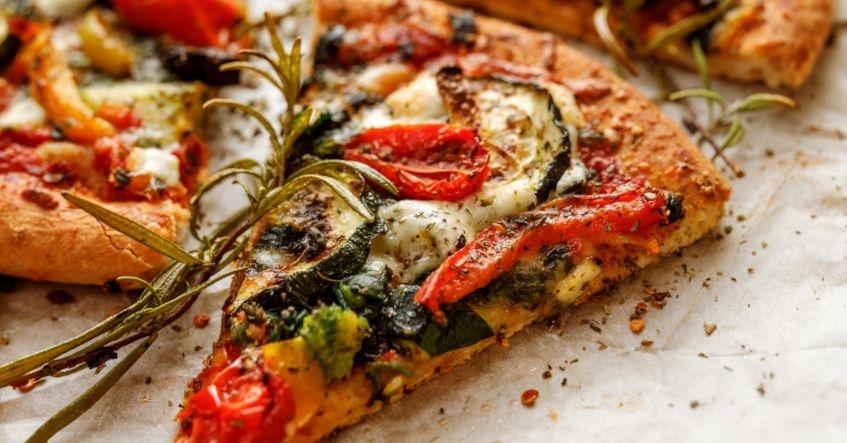 Pizza de Coliflor y Verduras