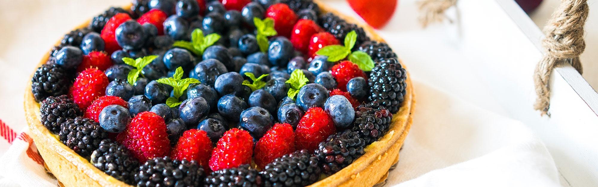 Tartaleta de berries