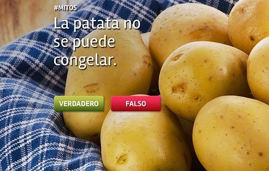 Truco Albal®: No congeles la patata