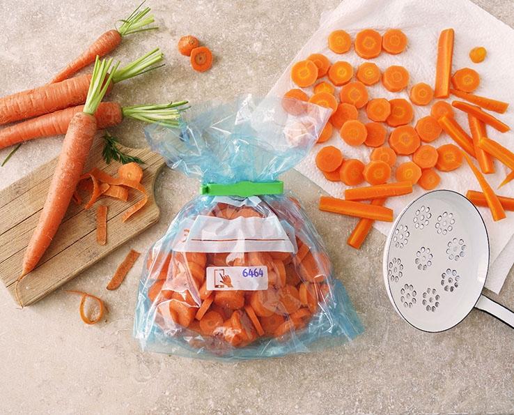 Truco Albal® ¡Congelar Zanahorias!