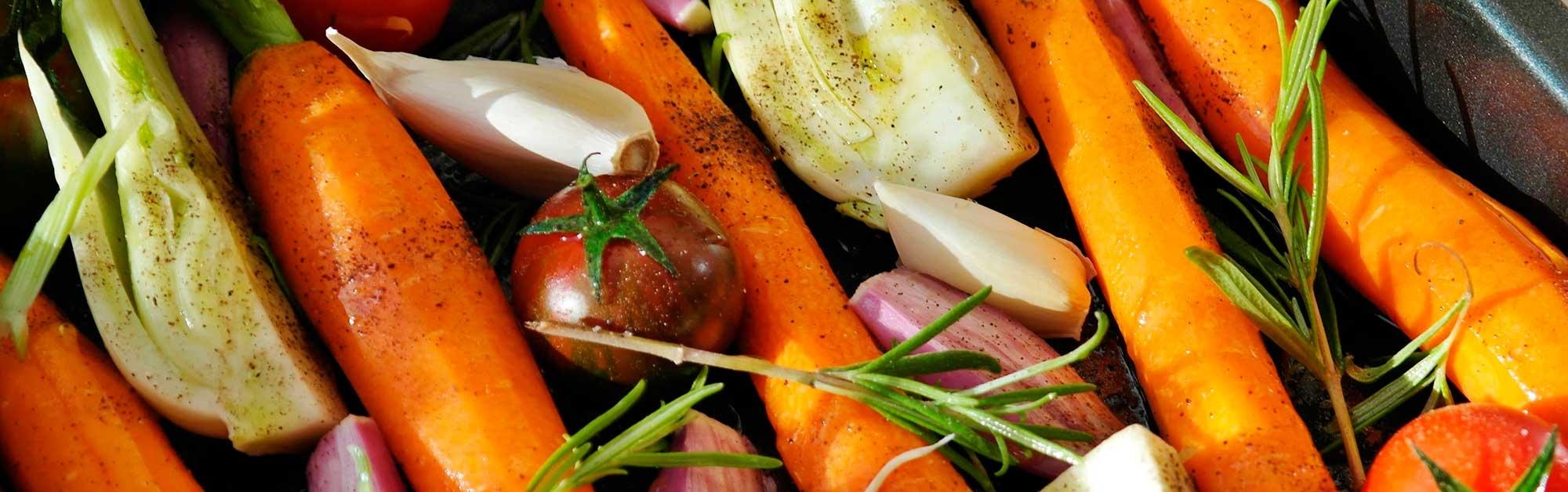 Zanahorias asadas con comino